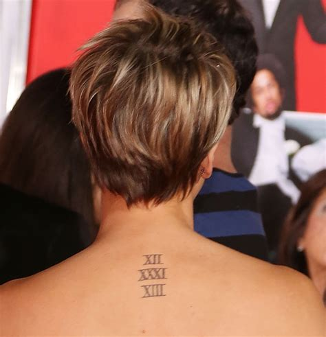 kaley cuoco covers up wedding date tattoo