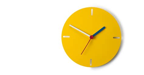 best made wall clock huxley wall clock matt yellow made com