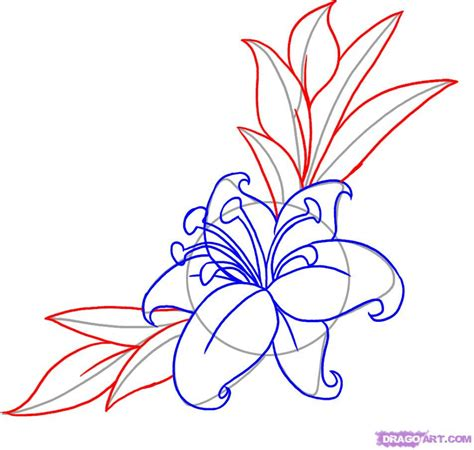 how to draw tattoos japanese flower drawing how to draw a flower