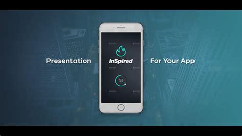 App Presentation Mobile After Effects Templates F5 Design Com App Presentation Template Free