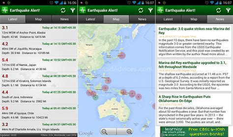 earthquake alert best earthquake notification app