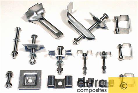 tekne ekipmanları stainless steel grating fixings for fibreglass