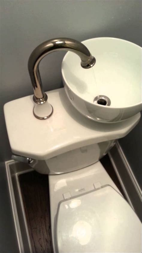 toilette und waschbecken space water saving sink toilet combo
