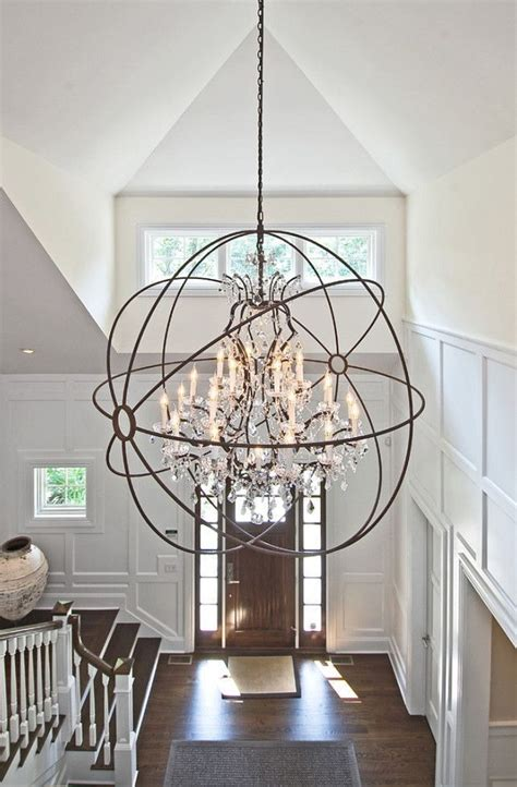 Foyer Chandelier Ideas 17 Best Ideas About Foyer Chandelier On Entryway Entryway Foyer