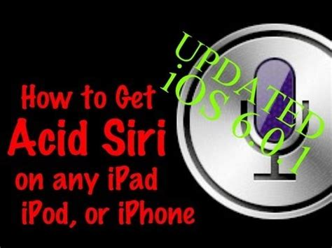 how to get siri on any ipad for free instructablescom how to add siri to any iphone ipad or ipod on ios 6 0