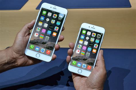 iphone 6 plus iphone 6 vs iphone 6 plus in depth comparison and specs digital trends