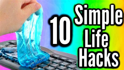 easy life hacks 10 simple life hacks of the day learn now