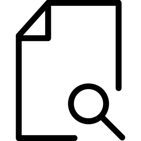 File Search File Search Icon Line Iconset Iconsmind