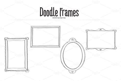 free vector doodle frame doodle frames vector illustrations on creative market