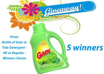 Tide Giveaway - gain tide flash giveaway mom blog society