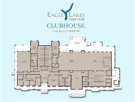 clubhouse floor plans restaurant bar eagle lakes golf club