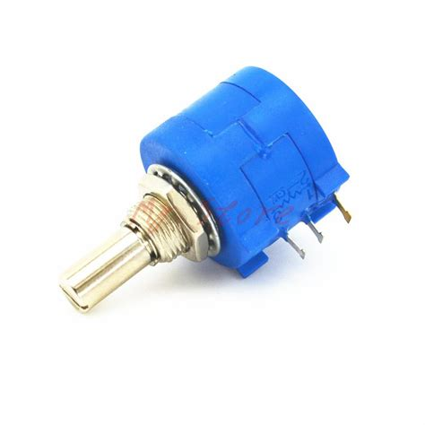 10k ohm precision resistor 10k ohm 103l precision wire wound potentiometer adjustable resistor 10turn 3590s in switches