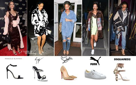 In Rihannas Closet Christian Louboutin by What S In Shoe Closet Rihanna In Manolo Blahnik