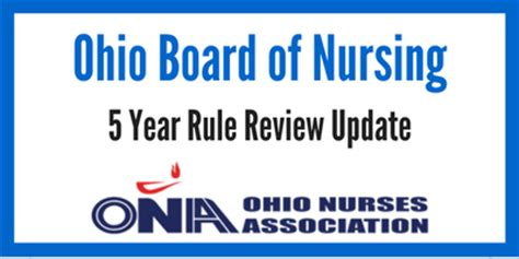 Ohio Nursing Laws For Detox Facility by 2016 Board Of Nursing Proposed Ohio Nurses Association
