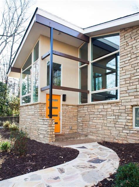 mid century modern window trim druid hills mid century modern midcentury exterior