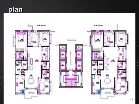 Duplex Designs Floor Plans design and analasys of a g 3 residential building using staad