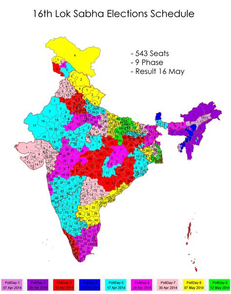 number of lok sabha seats in kerala 16th lok sabha elections 2014 schedule poll dates