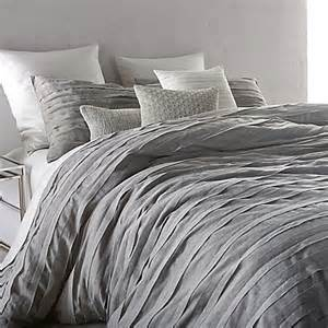 Grey King Bedding Sets Buy Dkny Loft Stripe King Comforter Set In Grey From Bed Bath Beyond