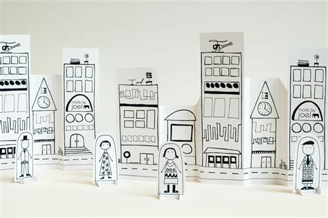How To Make A City With Paper - made by joel 187 paper city