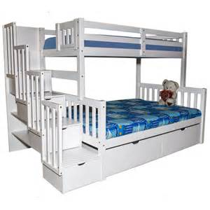 Loft Beds Toronto Ontario White Storage Stairway Bunk Bed Flamingo Beds