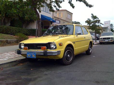 honda civic 77 the peep 1977 honda civic