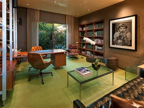 The Mid Century Modern Home Office
