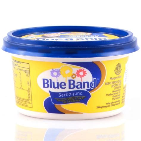 Blue Band Sachet 200 margarine mentega 8oz by blue band