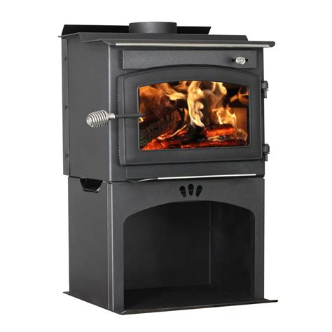 wood burning stove with wood storage vogelzang defender 1 200 sq ft wood stove with storage