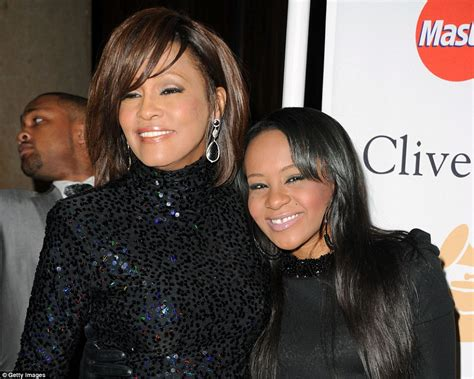 whitney houston and her daughter whitney houston funeral a galaxy of stars gather in new