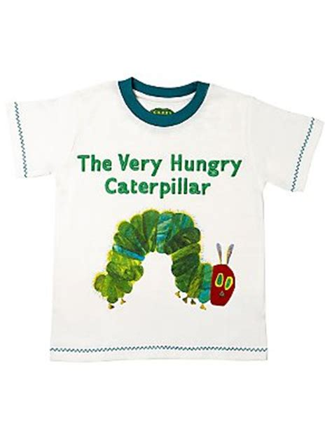 T Shirt Caterpillar White the hungry caterpillar t shirt white 3 4 review