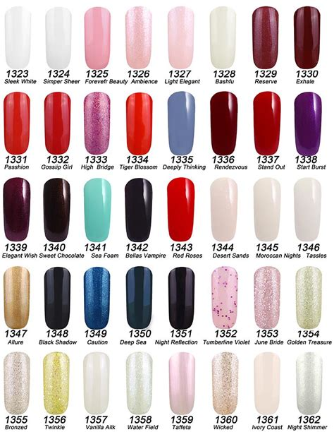 opi gel color chart 2015 2015 new arrival gelish polish soak off uv gel nail polish