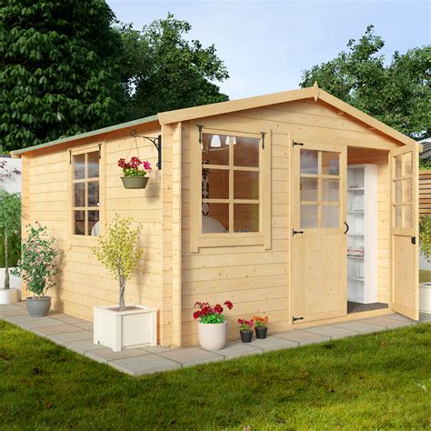 Billyoh Sheds Review by Billyoh 3 0 X 3 0m Clubman Garden Log Cabin 163 1 049 00