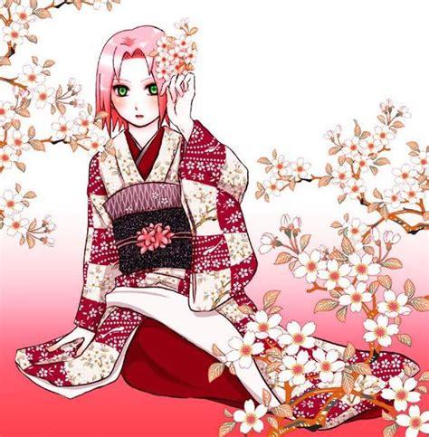 Cherry Hinata Flower Kimono kimono by yukiofh2803 on deviantart