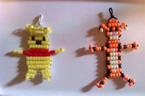bead buddies patterns free free winnie the pooh tigger bead buddies beading