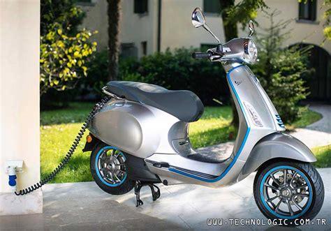 elektrikli motosiklet vespa tuerkiyede technologic