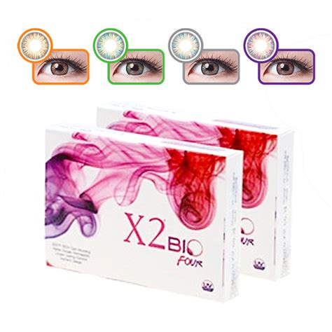 X2 Bio Four By Skyshop x2 bio four softlens by exoticon 4 pilihan warna elevenia