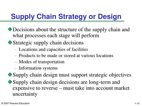 layout strategy supply chain ppt supply chain management 3rd edition powerpoint