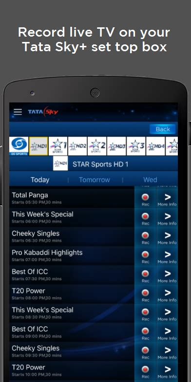 tata sky apk tata sky mobile android apps auf play