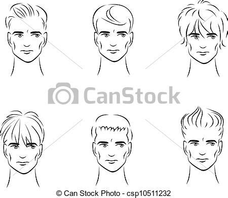 black hairstyle books free illustration of the six options for s hairstyles from