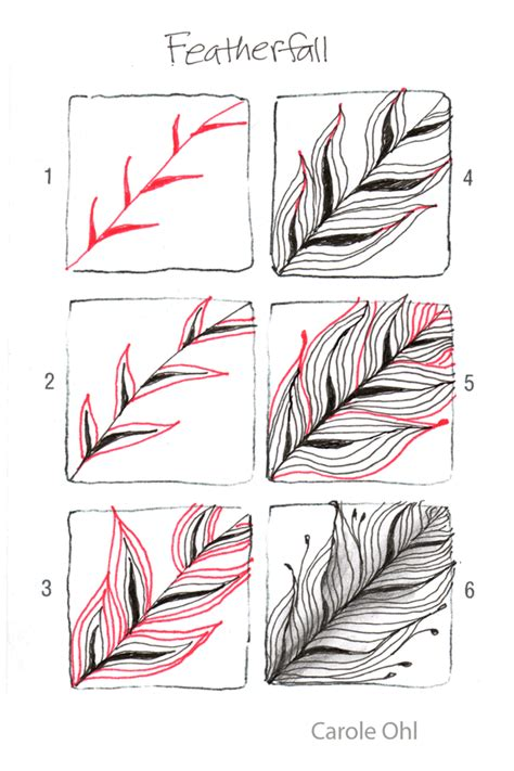 how to draw doodle patterns open seed arts featherfall