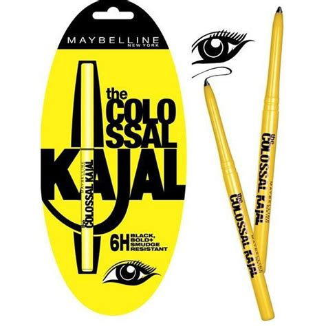 maybelline maybelline the colossal kajal 12 hour