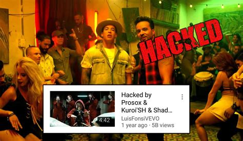 despacito youtube despacito youtube video has been hacked and deleted