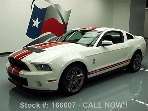 2010 ford mustang shelby gt500 coupe 6 speed manual transmission photo 56341027 gtcarlot com find used 2010 ford mustang shelby gt500 svt cobra 6 speed nav 5k texas direct auto in stafford