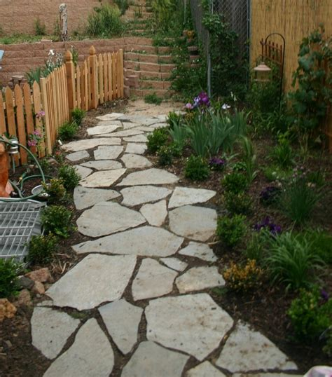 paths design walkway ideas pathway idea bigger stones keep the