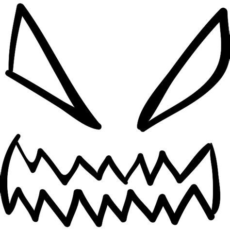 imagenes de ojos para halloween ojos de demonio de halloween y contorno de la boca