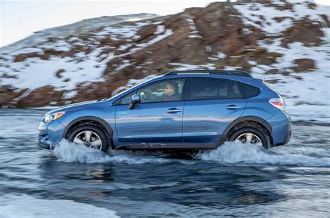blue subaru crosstrek 2014 subaru crosstrek hybrid blue in stream photo 26