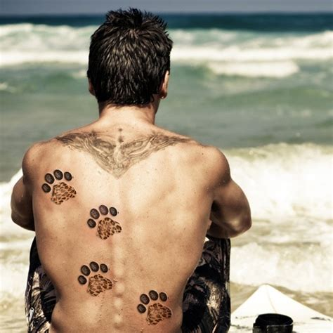 leopard print tattoo meanings and creative design ideas