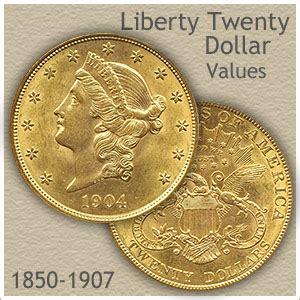 Miniatur Replica Us Twenty Dollar Golden Coin liberty twenty dollar gold coin values discover their