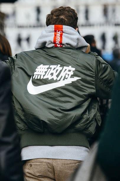 Jaket Bomber Hoodie Rocafella Green Army jacket supreme hoodie green jacket bomber jacket nike