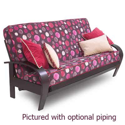 purple futon cover purple futon cover bm furnititure